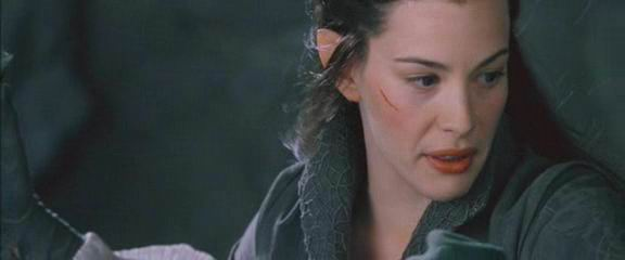 arwen vs glorfindel