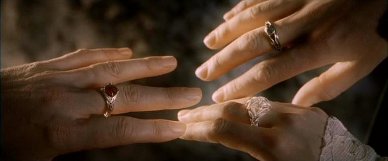 anillos de poder tolkien el señor de los anillos