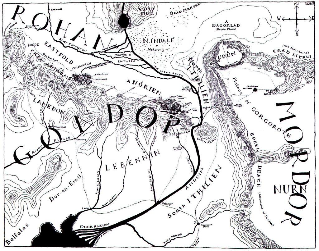 Boromir y Galadriel Gondor
