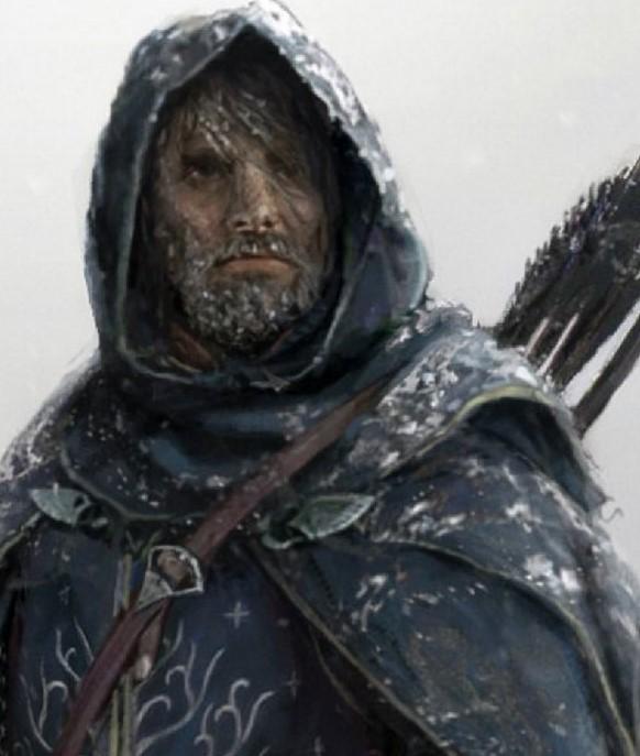 Aragorn y andúril