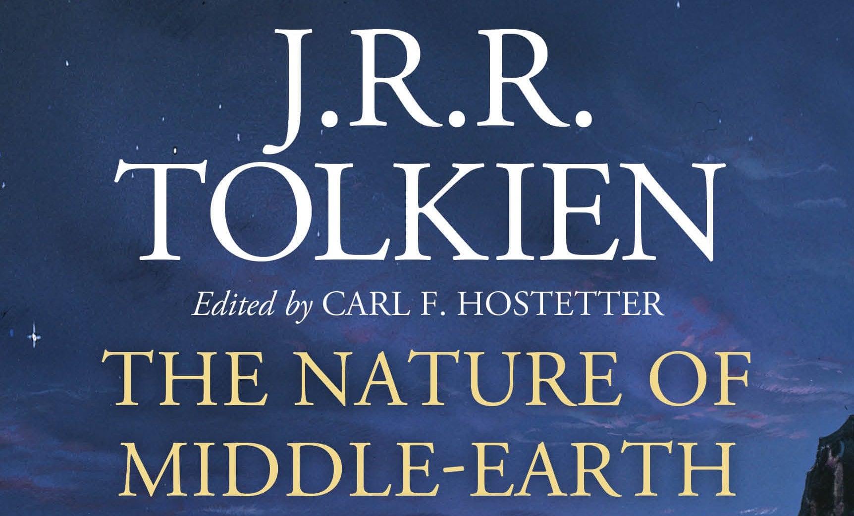 la naturaleza de la tierra media tolkien