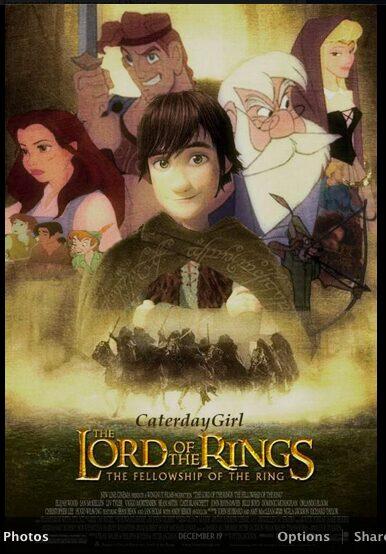 el señor de los anillos disney