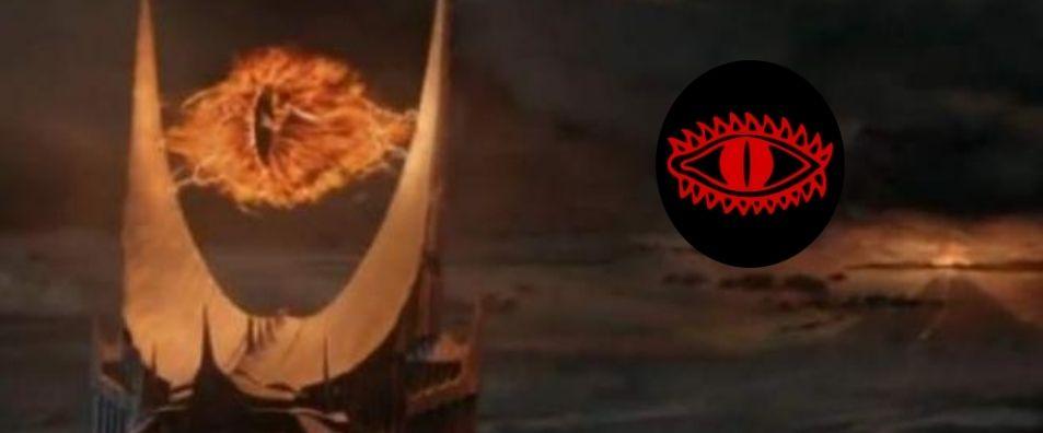 el símbolo de sauron