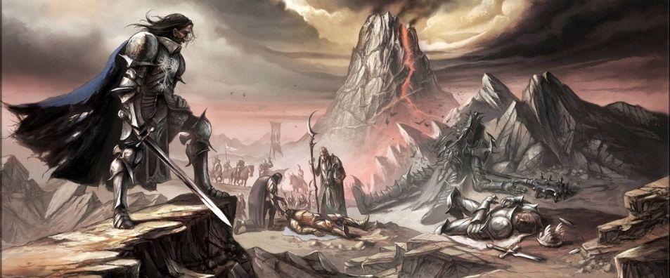 última alianza de hombres y elfos