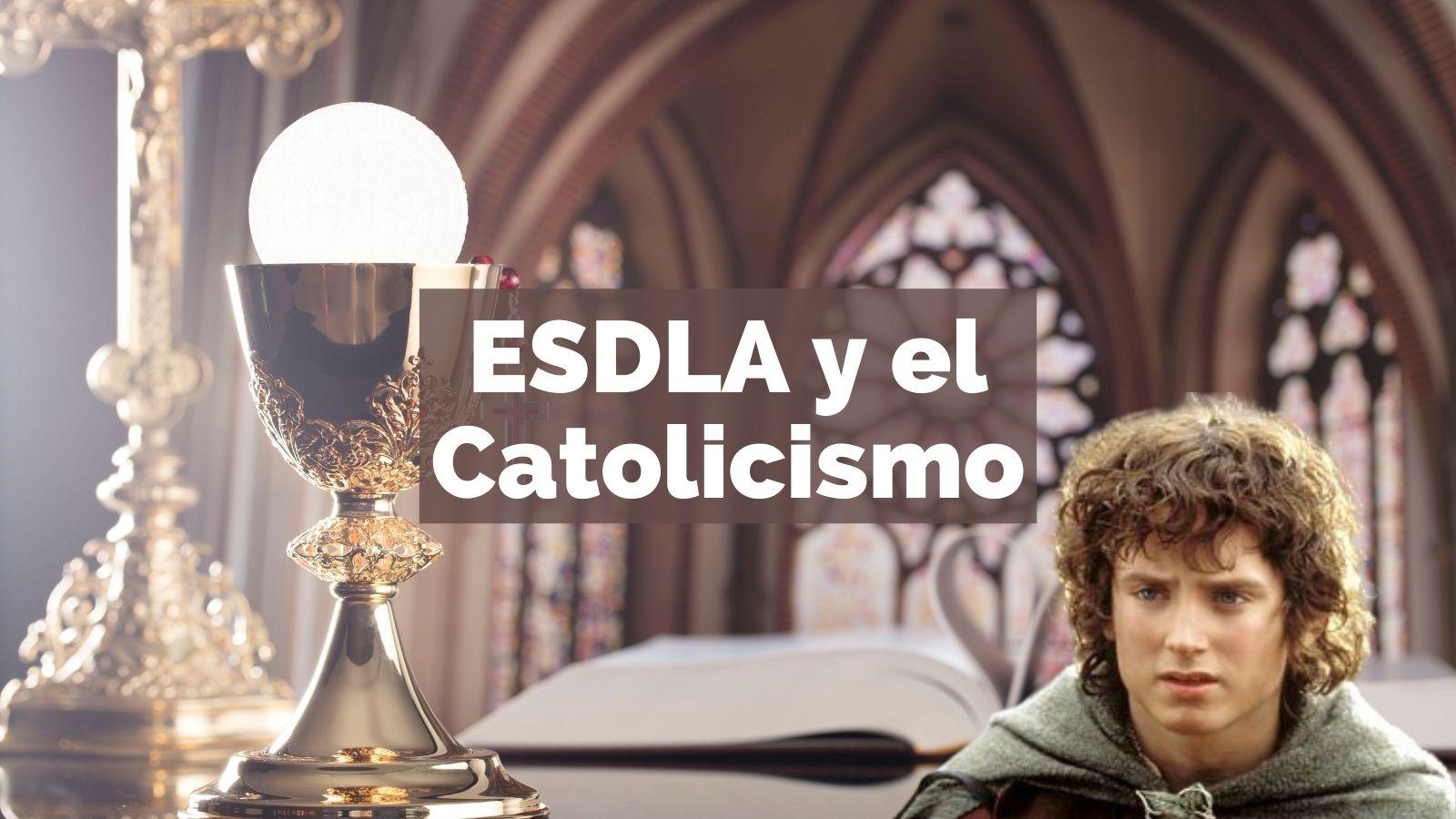 el señor de los anillos católico