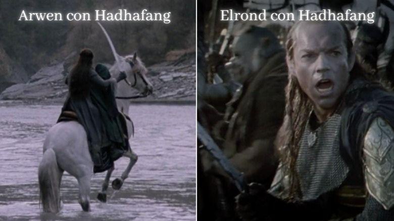 hadhafang espada de arwen y elrond