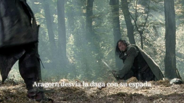 aragorn desvia daga