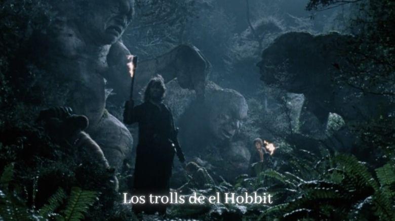 trolls de el hobbit en el señor de los anillos