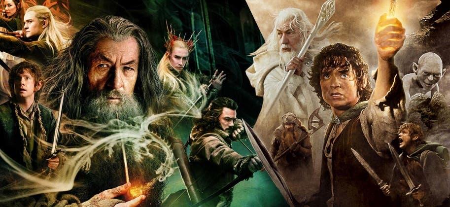 el señor de los anillos y el hobbit