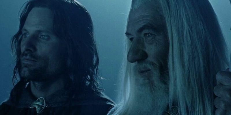 aragorn conoce a gandalf