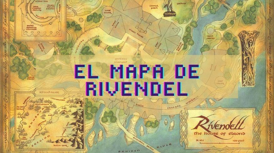 el mapa de rivendel