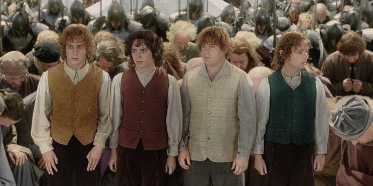 hobbits en minas tirith