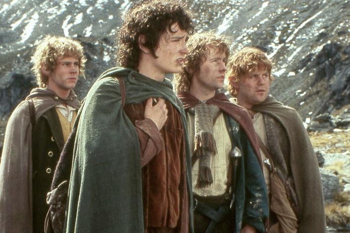 hobbits la comunidad del anillo