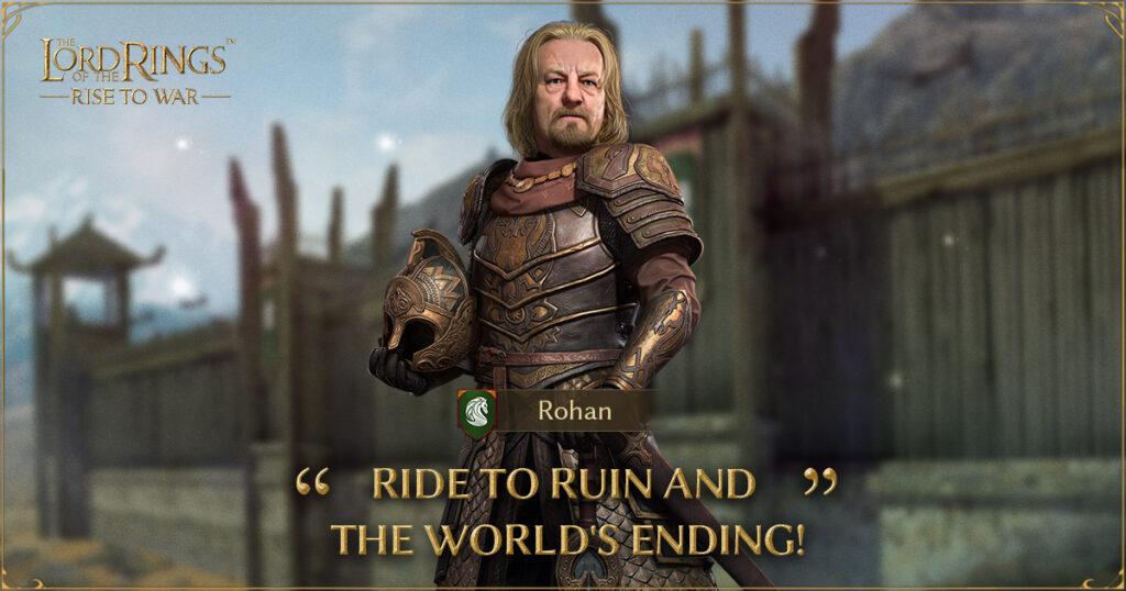 el señor de los anillos rise to war