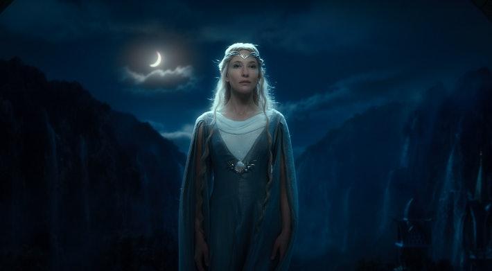 galadriel en el hobbit